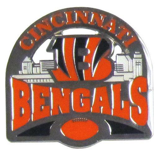 Cincinnati Bengals Glossy Team Pin
