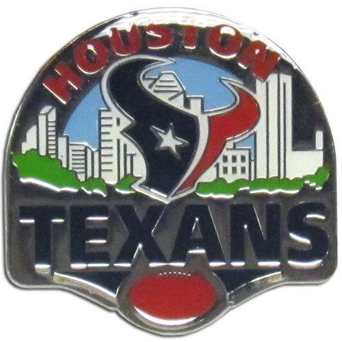 Houston Texans Glossy Team Pin