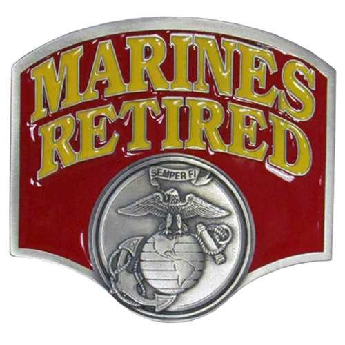 Marines Retired Hitch Cover