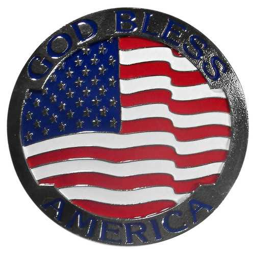God Bless America Hitch Cover