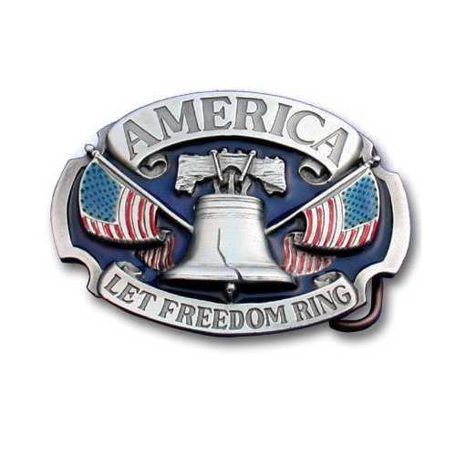 AMERICA LET FREEDOM RING ENAM