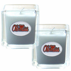 Ole Miss 2pk Candle