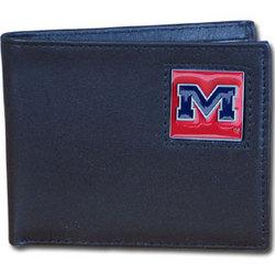 Mississippi Rebels Leather Bi-fold Wallet