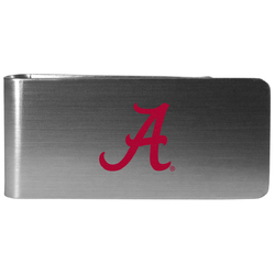 Alabama Crimson Tide Steel Money Clip, Logo