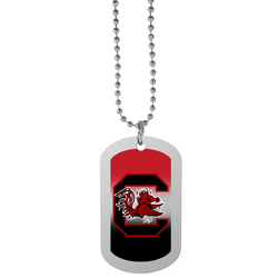 S. Carolina Gamecocks Team Tag Necklace