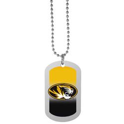 Missouri Tigers Team Tag Necklace