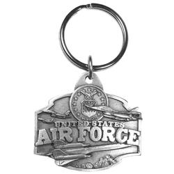 Air Force Antiqued Keyring