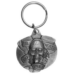 Death Do Us Part Antiqued Keyring