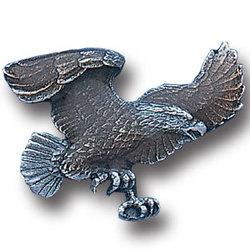 Striking Eagle Lapel Pin