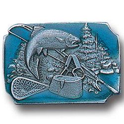 Fishing Lapel Pin