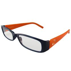 Dark Blue and Orange Reading Glasses Power +1.50, 3 pack