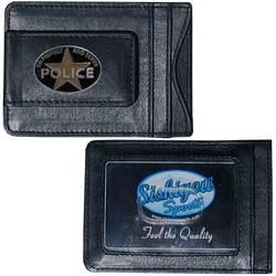 Police Leather Cash & Cardholder