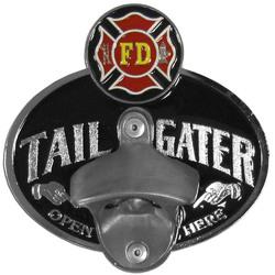 Category: Dropship Patriotic & Firefighter, SKU #STH20TZ, Title: FF HITCH-TG