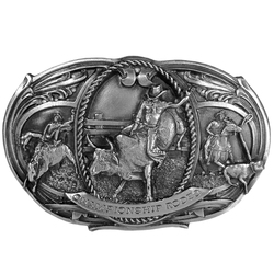 Championship Rodeo Antiqued Buckle