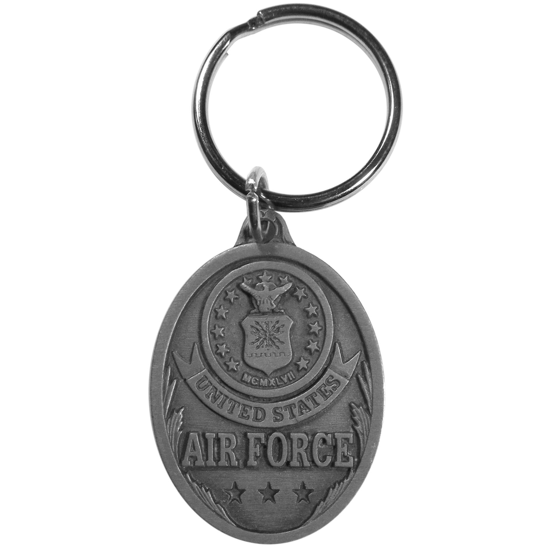 Siskiyou KR104 American Firefighter Antiqued Key Chain