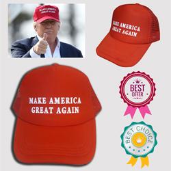Donald Trump Make America Great Again Red Hat Vinyl Sticker Decal MADE IN U.S.A