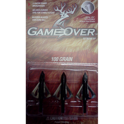 Game Over Extreme SP 100 grain Broadheads