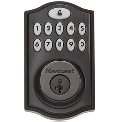 Z-Wave Deadbolt Venetian Bronze