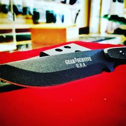 Gear2survive XL Drop Point Blade