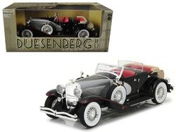 1934 Duesenberg II SJ Black and Silver