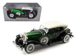1934 Duesenberg Model J Black/Green