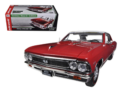 1966 Chevrolet Chevelle SS 396 L78 Red Christmas Edition