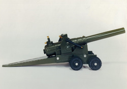 Big Bang Cannons 155MM Cannon on 8 Rubber Wheels